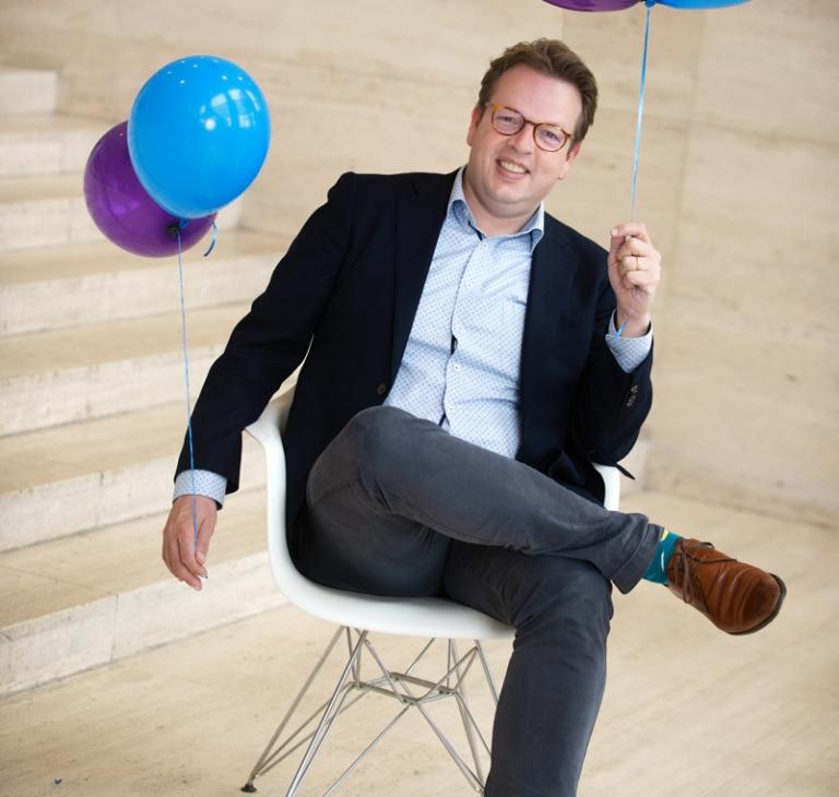 Geert-Jan Waasdorp oprichter Intelligence Group, onderzoek en databureau gespecialiseerd in arbeidscommunicatie en recruitment