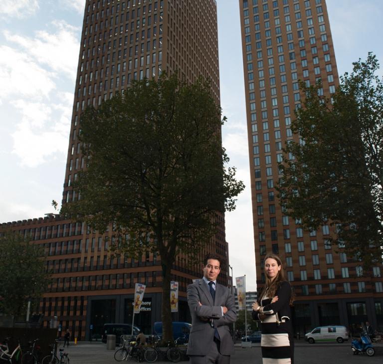 Annelieke Vermijs en Gabriel  van Gelder – belasting managers bij EY