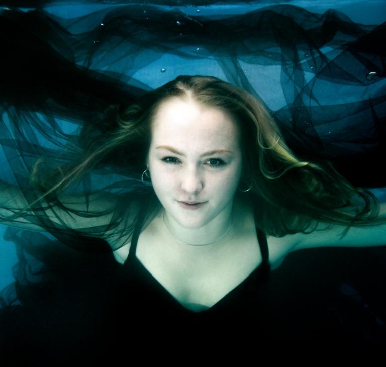 onderwaterportret Olga