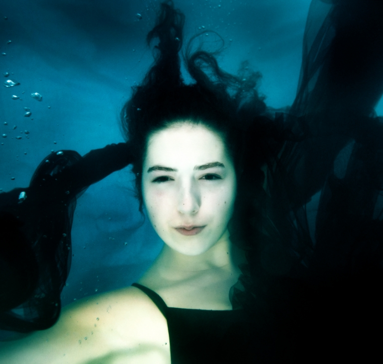 onderwaterportret Irina
