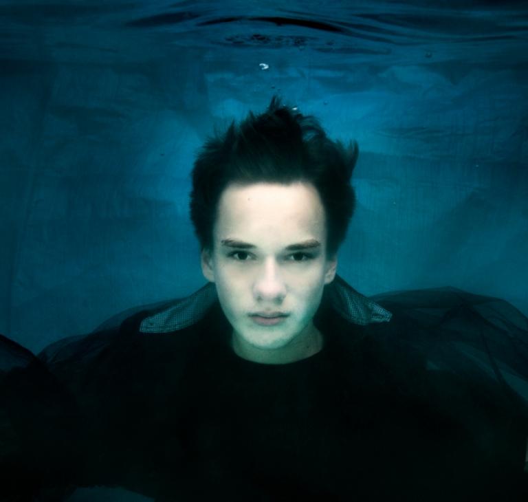 onderwaterportret Camil