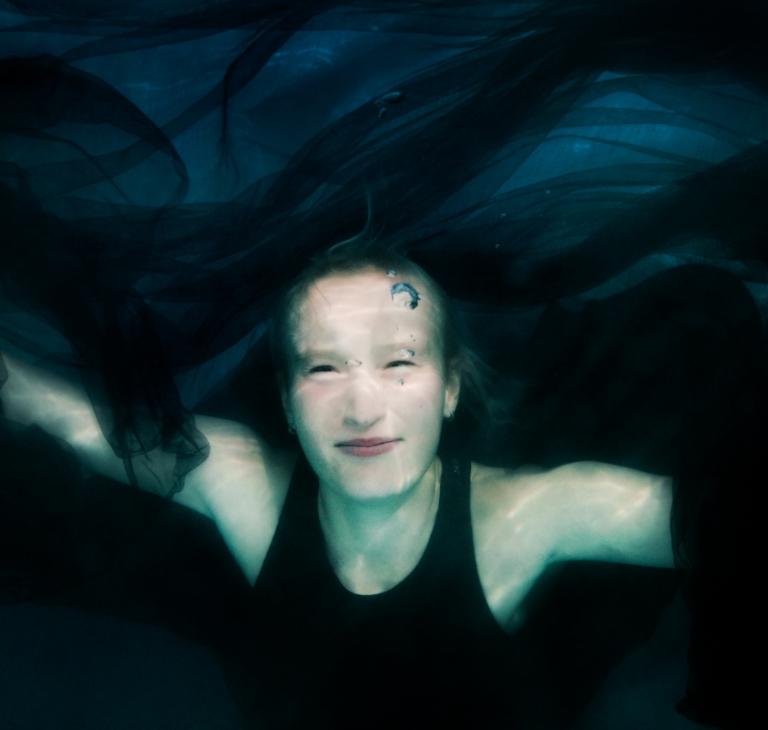 onderwaterportret Myrthe