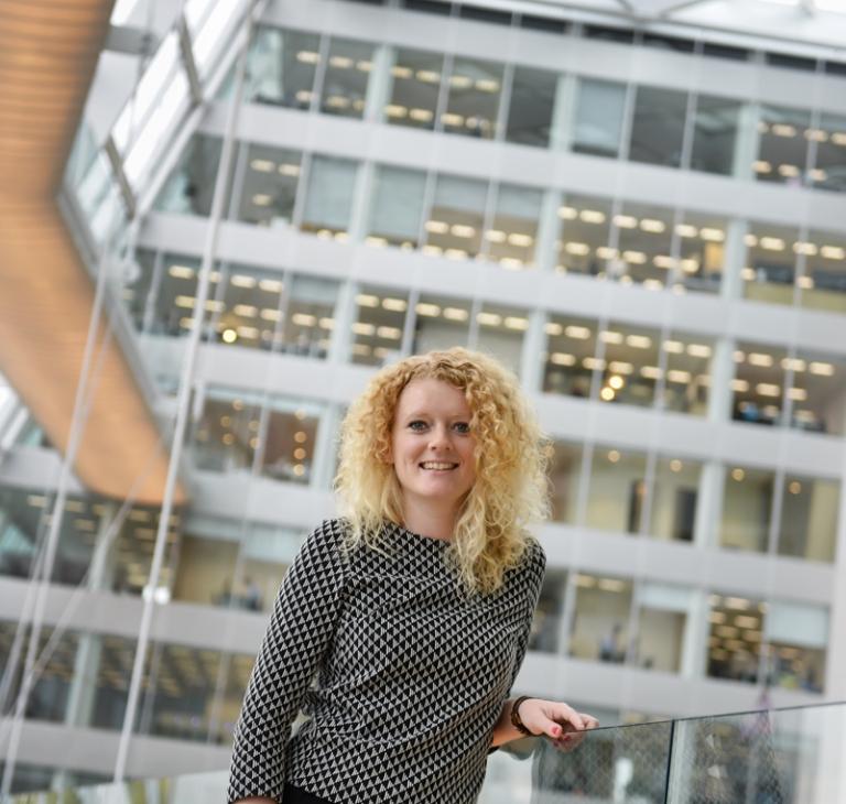 Ymkje van der Veen – senior consultant Deloitte