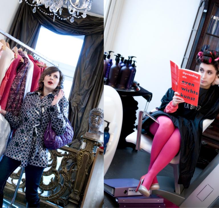 Chicklitschrijfsters Rianne en Suzan