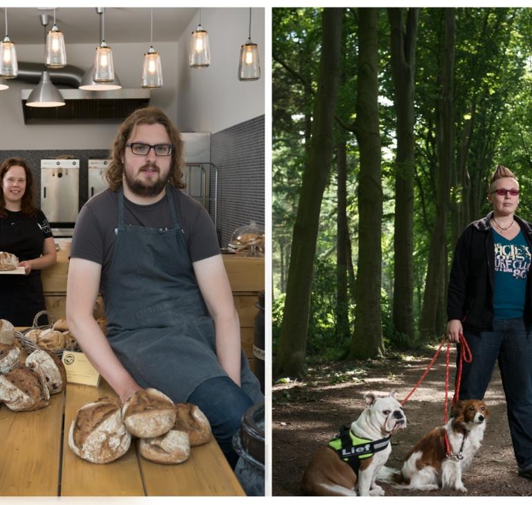 Start up – Jeroenbaktbrood en Mandy – hondenuitlaatservice Mandy