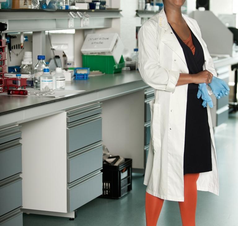 Witte jas – biochemicus
